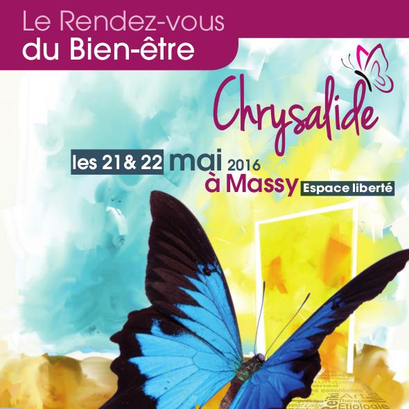 prochain salon Chrysalide Massy Les Oceanides création 21 22 mai 2016
